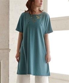 <ニッセン> 袖コンシャスプルオーバー (大きいサイズレディース)Tシャツ・カットソー 28