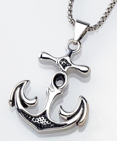 アンカーデザインネックレス 50cm ネックレス(ペンダント)