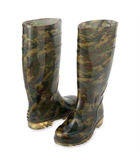 AZ-65901 アイトス 迷彩長靴 長靴, Boots