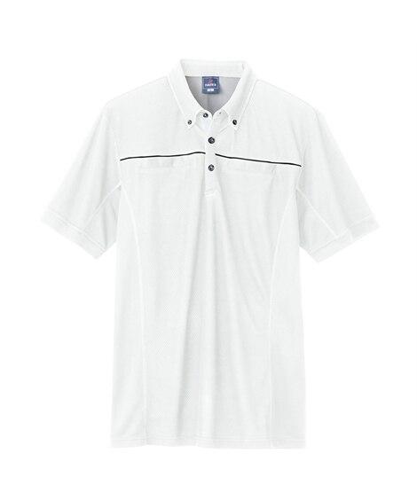 AZ-551044 アイトス 半袖ポロシャツ(男女兼用) 作...