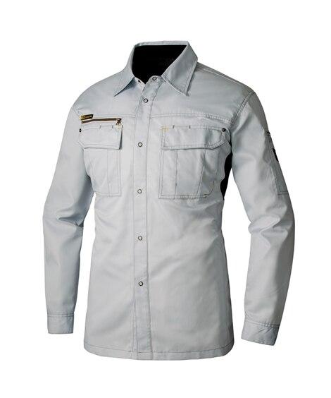 <ニッセン> AZ-3835 アイトス 長袖シャツ 作業服