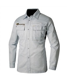 <ニッセン> AZ-30435 アイトス 長袖シャツ(男女兼用) 作業服 30