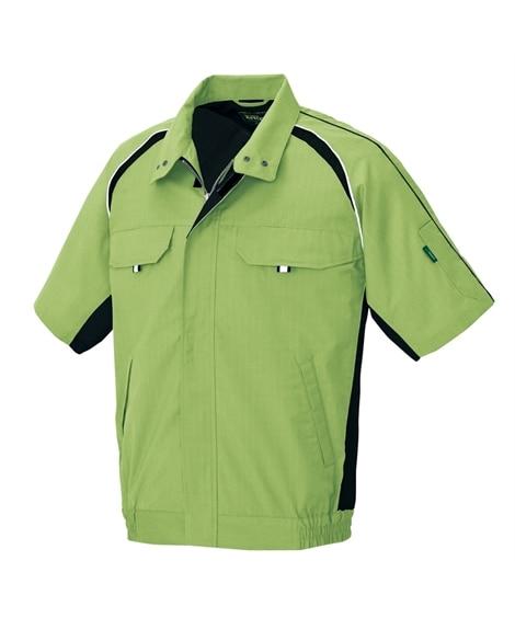 <ニッセン> AZ-1732 アイトス 帯電防止半袖ブルゾン 作業服