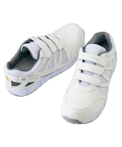 AZ−51659 アイトス 耐油。耐滑。静電マジックテープセーフティシューズ(男女兼用) 安全靴・セーフティーシューズ