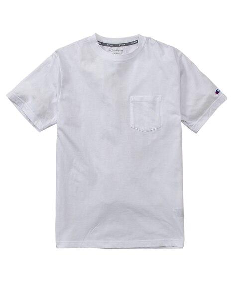 Champion(チャンピオン)吸汗速乾。UVカット ポケット付き半袖Tシャツ(C VAPOR/C PROTECT UV) 【レディーススポーツウェア】Sportswear