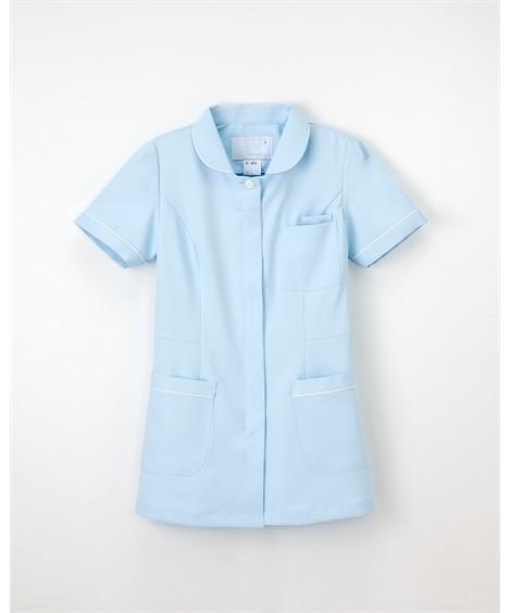 (FT-4412)【ナガイレーベン】半袖チュニック ナースウェア・白衣・介護ウェア