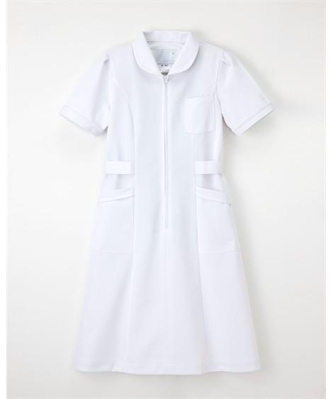 (MI-4637)【ナガイレーベン】半袖ワンピース ナースウェア・白衣・介護ウェア