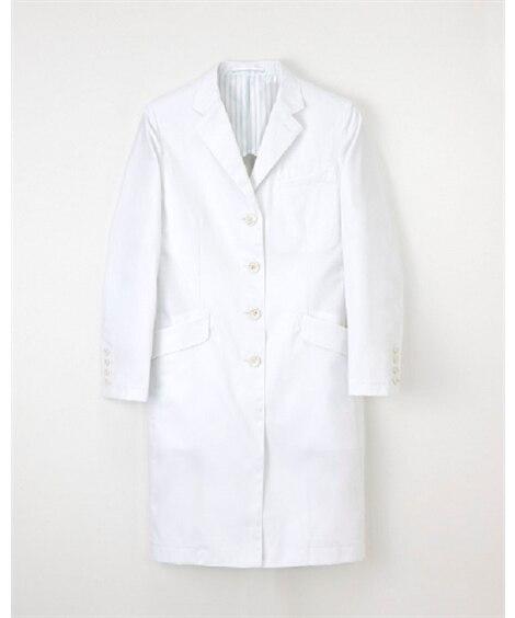 ナガイレーベン FD-4040 女子シングルドクターコート(女性用) ナースウェア・白衣・介護ウェア