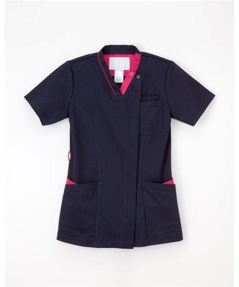 ナガイレーベン RF-5122 女子スクラブ(女性用) ナースウェア・白衣・介護ウェア