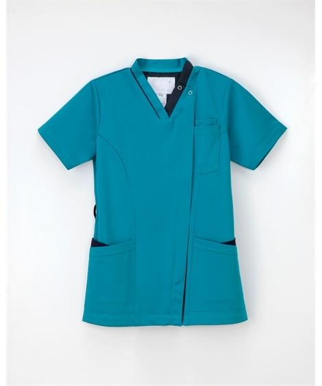 ナガイレーベン RF-5142 女子スクラブ(女性用) ナースウェア・白衣・介護ウェア