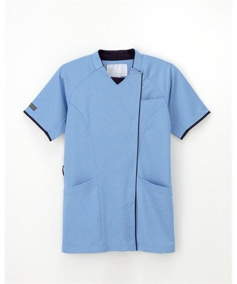 ナガイレーベン JM3127 ニットシャツ(男女兼用) ナースウェア・白衣・介護ウェア