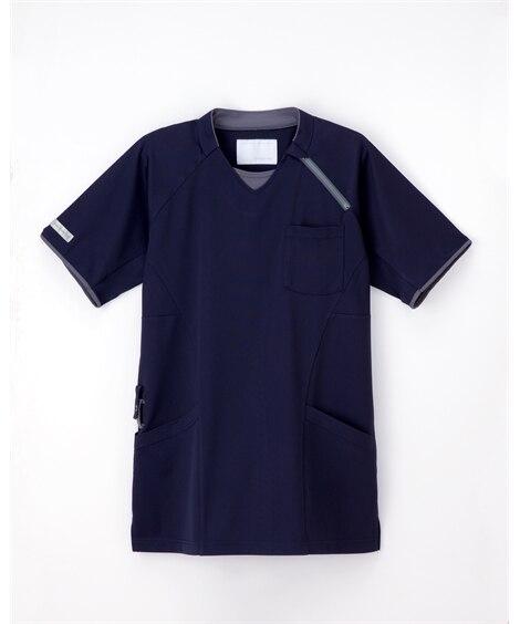 ナガイレーベン CX-3112 ニットシャツ(男女兼用) ナースウェア・白衣・介護ウェア