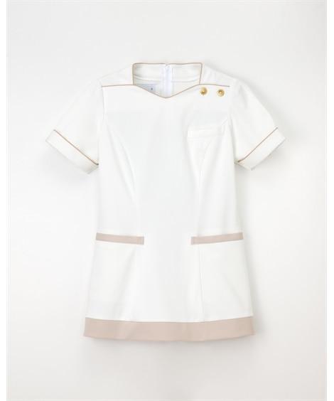ナガイレーベン LH-6282 チュニック(女性用) ナースウェア・白衣・介護ウェア
