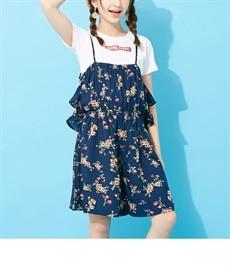 55ad02e34172e 女の子 子供服 サロペット・ジャンパースカート 通販 ニッセン  - 安く ...