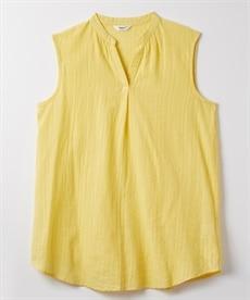 <ニッセン> スカラップ刺しゅうノースリーブワンピース (ワンピース)dress 7