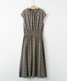 <ニッセン> スカラップ刺しゅうノースリーブワンピース (ワンピース)dress 21