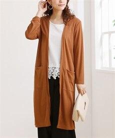 <ニッセン> スカラップ刺しゅうノースリーブワンピース (ワンピース)dress 25