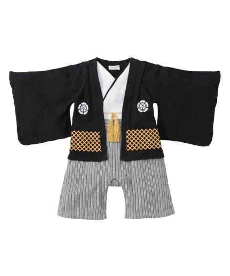 男児袴風カバーオール 【ベビー服】