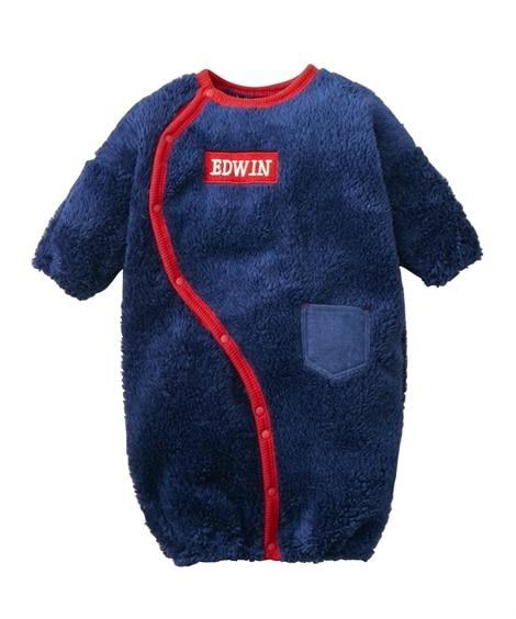 EDWIN(エドウィン)あったかふわふわタオルフリースツーウェイドレス(男の子 子供服。ベビー服) 【ベビー服】