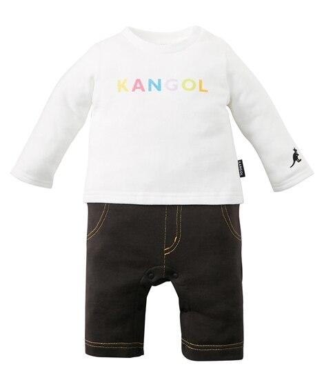 【KANGOL BABY(カンゴール ベビー)】長袖重ね着風...