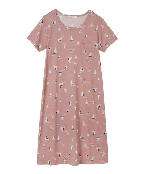 半袖ルームワンピース(L) (パジャマ・ルームウェア)Pajamas