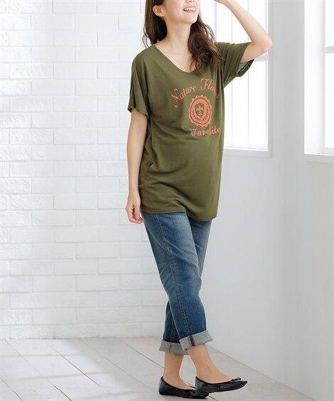 【授乳服 産前 産後】ゆるテロマタニティTシャツ (マタニテ...