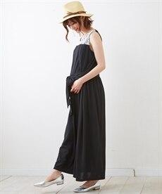 <ニッセン>半袖マキシ丈マタニティワンピース (マタニティウエア・授乳服) 12