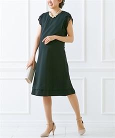 <ニッセン>半袖マキシ丈マタニティワンピース (マタニティウエア・授乳服) 22