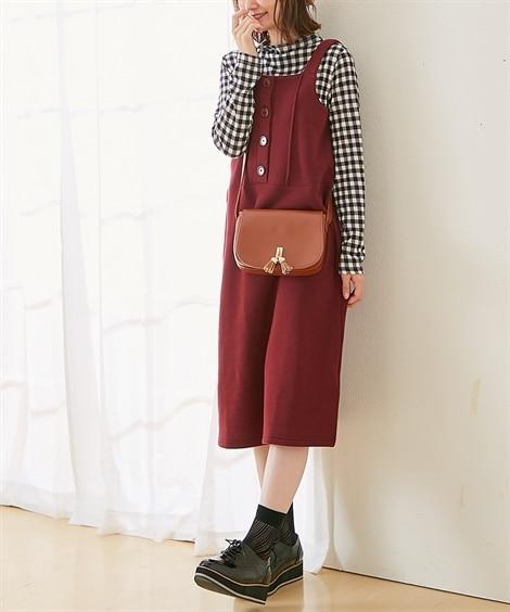 【授乳服 産前。産後】ニットソー×裏起毛 マタニティジャンス...