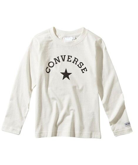 【CONVERSE(コンバース)】長袖Tシャツ(男の子。女の...