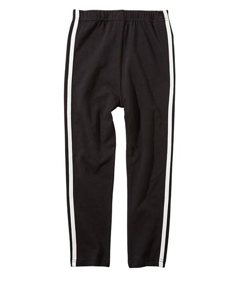 サイドライン 7分丈レギンス(女の子 子供服。ジュニア服) レギンス, Kids' Leggings