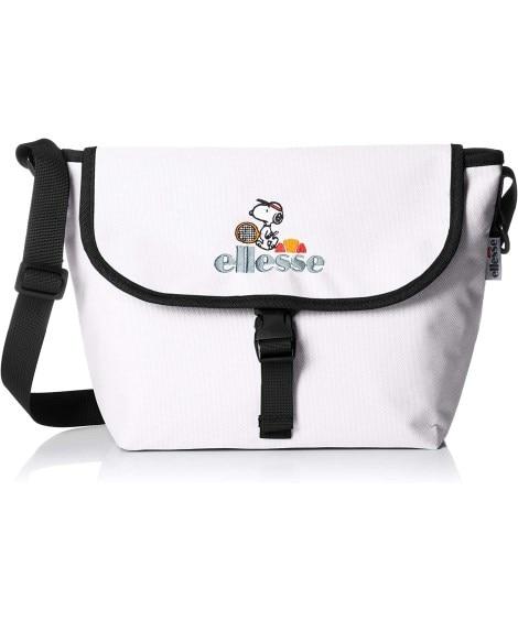 ellesse×PEANUTS(エレッセ×ピーナッツ)フラップショルダー 【PN3104】 ショルダーバッグ・斜め掛けバッグ, Bags