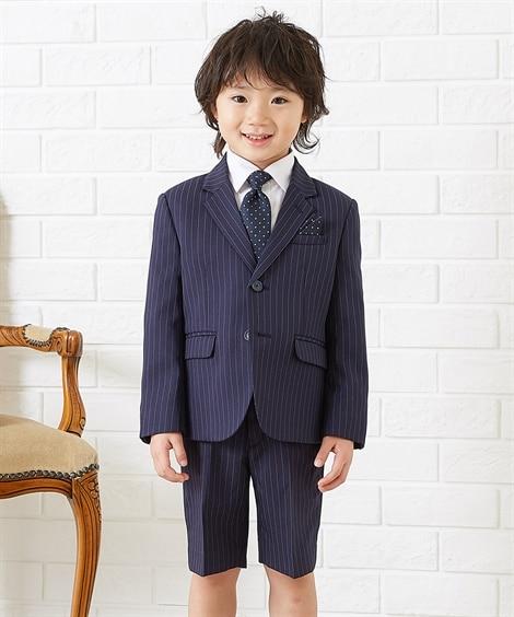 【卒園。入学】フォーマルスーツ3点セット(男の子 子供服) ...