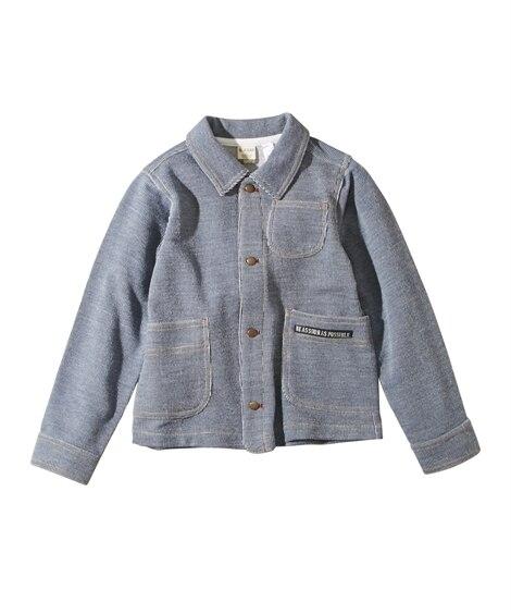 カバーオールジャケット(男の子。女の子 子供服) ジャンパー...