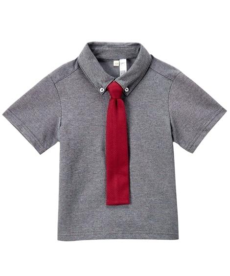 ネクタイ付ポロシャツ(男の子 ベビー服 子供服) キッズフォ...