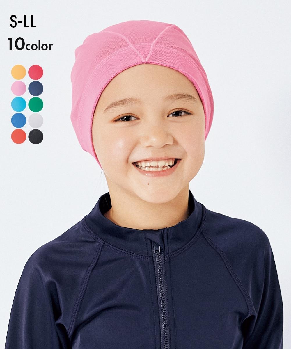 93a583c7436 黒; スイムキャップ (子供 水着)(水泳帽・ゴーグル・関連アイテム) ...