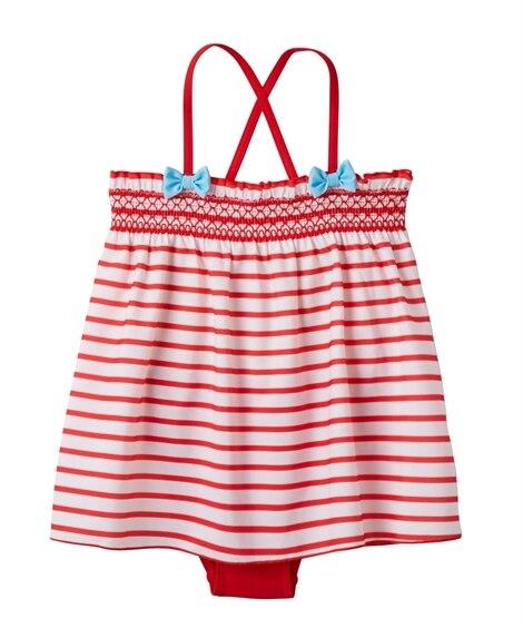 ワンピース水着(女の子 子供 水着) ファッション水着(遊泳...