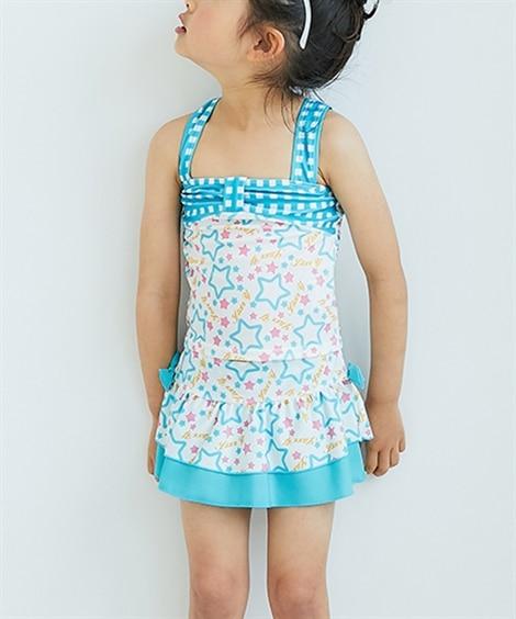 セパレート水着(女の子 子供 水着) ファッション水着(遊泳...