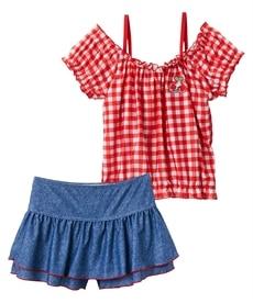 <ニッセン> セパレート水着(女の子 子供 水着) ファッション水着(遊泳用水着) 13
