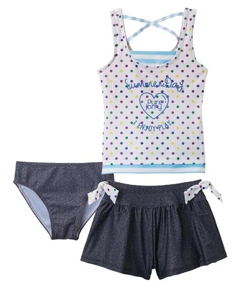 セパレート水着(女の子 子供 ジュニア 水着) ファッション...