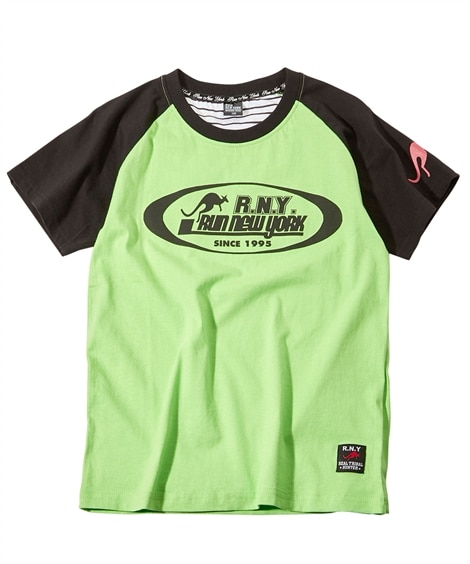 RUN NEW YORK 半袖Tシャツ(男の子 子供服。ジュ...