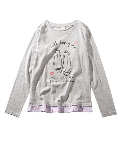 選べる8柄。カジュアルTシャツ(女の子 子供服。ジュニア服)...