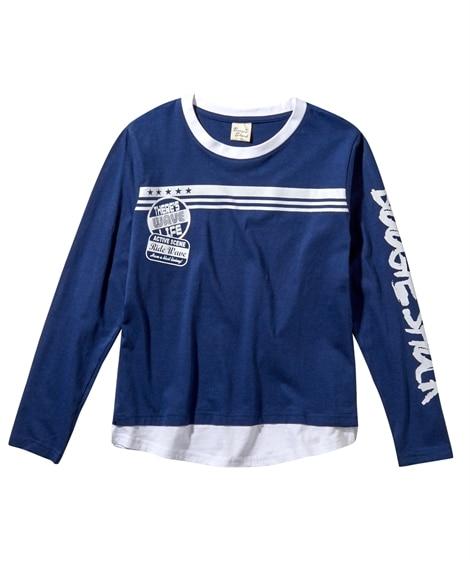 春のプリントTシャツ(男の子 子供服。ジュニア服) (Tシャ...