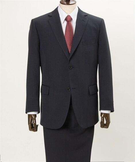 【紳士服】 洗えるアジャスター付スーツ(シングル2つボタン+...