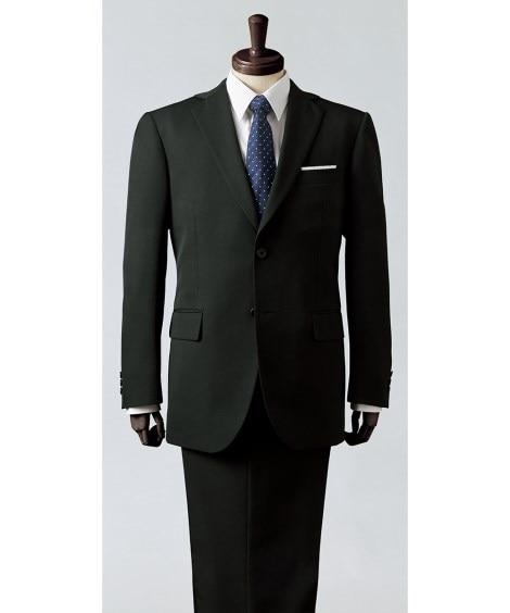【紳士服】 洗えるお買い得スーツ(シングル2つボタン+ツータックパンツ) ビジネススーツ, Suits