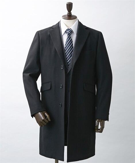 ウール混チェスターコート コート, Coat, 大衣