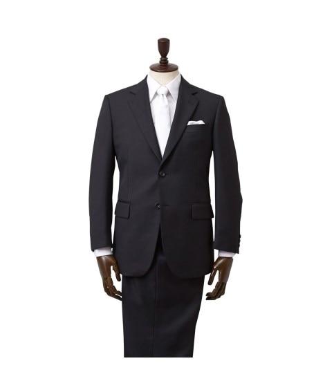【紳士服】 【ウエストアジャスター付】背抜き洗えるフォーマルスーツ(シングル2ボタン+ツータックパンツ) フォーマルスーツ, Suits