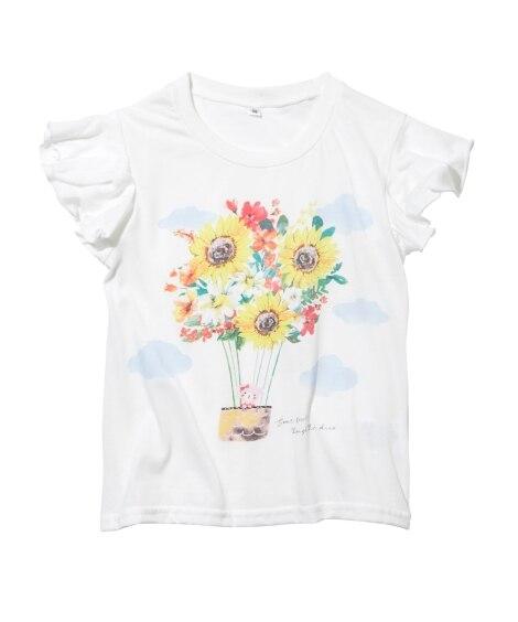 ガーリーTシャツ(女の子 子供服) Tシャツ・カットソー...
