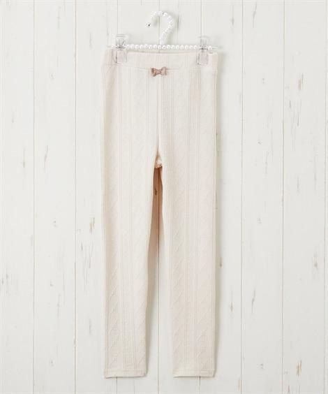 ジャガードレギンス(女の子 子供服) レギンス, Kids' Leggings
