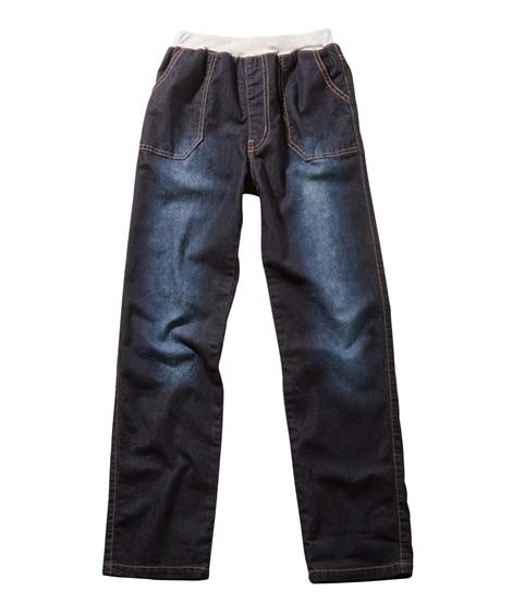 やわらかデニムベイカーパンツ(男の子 子供服。ジュニア服) ...